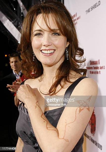 """Julia Campbell during """"The Shield"""" Season 6 Premiere and Season 5 DVD Launch Party - Red Carpet at Cabana Club in Hollywood, California, United..."""