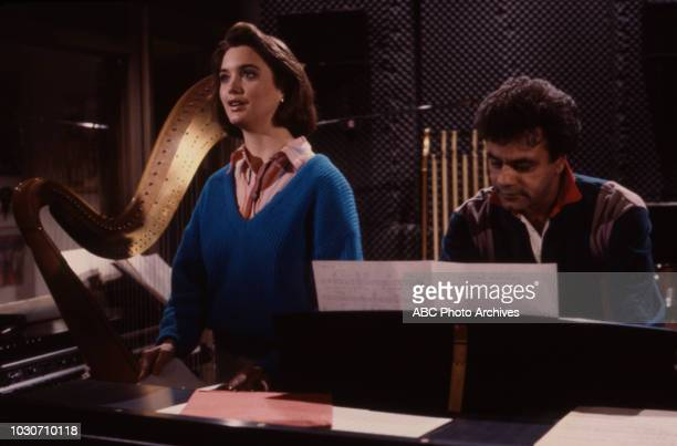 Julia Campbell Johnny Mathis appearing on the soap opera 'Ryan's Hope'