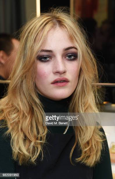 Julia CampbellGillies attends a party hosted by Tom Ford Beauty and Dazed to celebrate the launch of Tom Ford Extreme at Tom Ford Store Covent Garden...