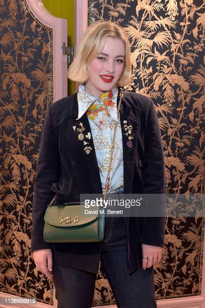 Julia CampbellGillies attends The Gucci Zumi A Special Event At The London Sloane Street Store on March 28 2019 in London England