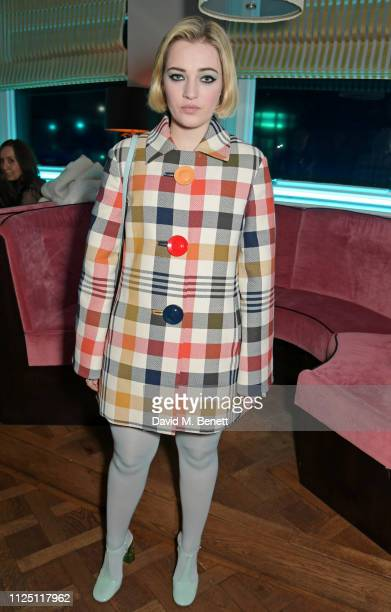 Julia CampbellGillies attends the Mulberry Reflections party celebrating London Fashion Week February 2019 and Mulberry's SS19 collection at Laylow...