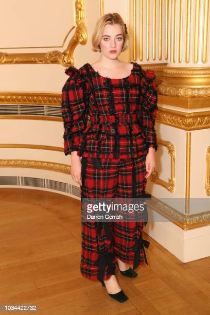 Julia CampbellGillies attends the Simone Rocha show during London Fashion Week September 2018 at Lancaster House on September 16 2018 in London...