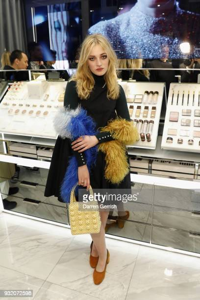 Julia CampbellGillies attends the Tom Ford Beauty event celebrating the launch of Tom Ford Extreme with Karen Elson and Ismaya French in partnership...