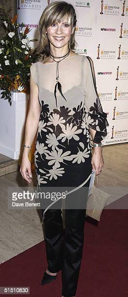 Julia Carling attends the 2002 Pantene Pro V Awards at The Royal Albert Hall on October 23 2002 in London