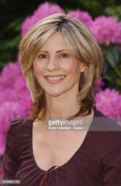 Julia Carling attends the 2005 Chelsea Flower Show in London