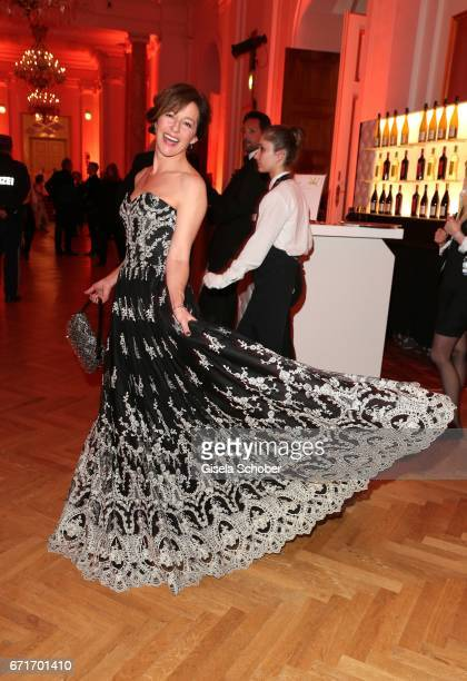 Julia Cencig during the ROMY award at Hofburg Vienna on April 22 2017 in Vienna Austria