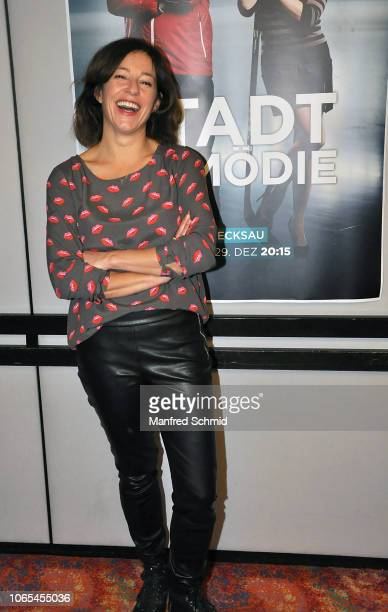 Julia Cencig poses during the 'Landkrimi Stadkomoedien' photo call at ORF Zentrum on November 26 2018 in Vienna Austria