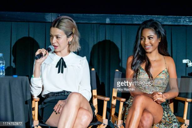 Julia Chan and Camille Hyde attends the Katy Keene screening at the 2019 Tribeca TV Festival at Regal Battery Park Cinemas on September 14 2019 in...