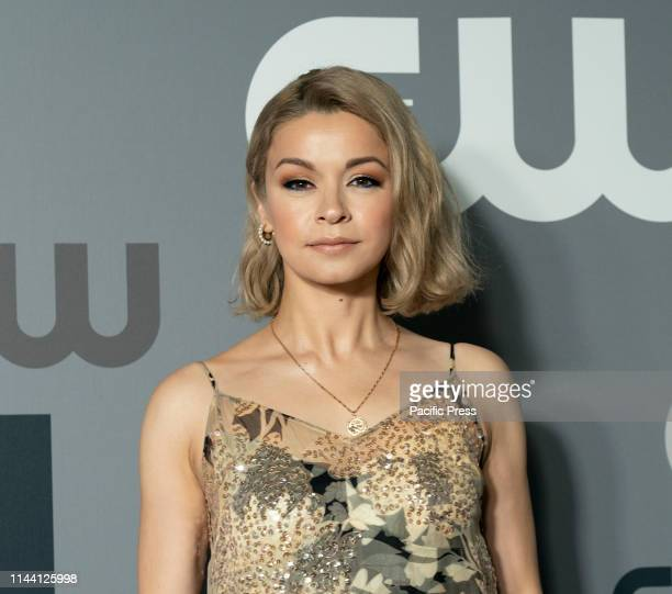 Julia Chan attends CW Network Upfront at New York City Center