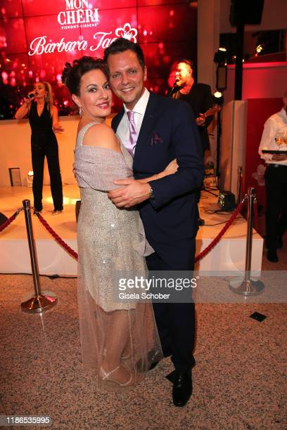 Julia Dahmen and her husband Carlo Fiorito during the 10th Mon Cheri Barbara Tag at Isarpost on December 4 2019 in Munich Germany