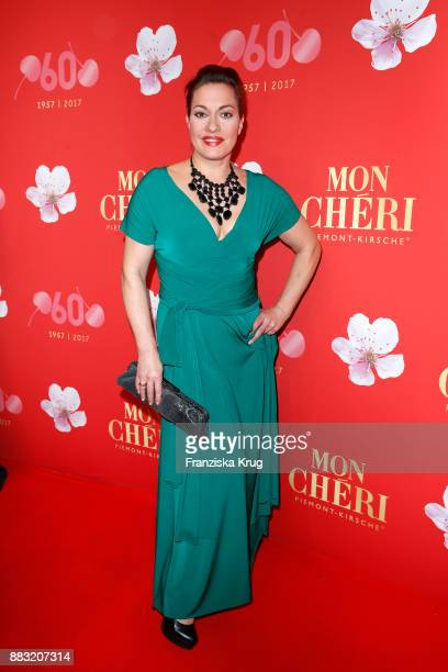 Julia Dahmen attends the Mon Cheri Barbara Tag 2017 at Postpalast on November 30 2017 in Munich Germany