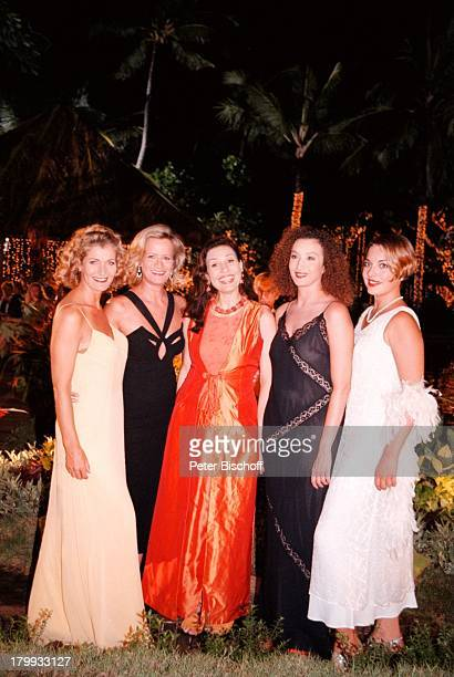 "Julia Dahmen, Christine Mayn, Brigitte;Karner, Claudia Rieschel, Konstanze;Breitebner, ""Traumschiff-Bali 2000"", Folge 35, ZDF,;Dreh Bali/Indonesien,..."