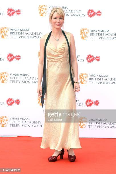Julia Davis attends the Virgin Media British Academy Television Awards 2019 at The Royal Festival Hall on May 12 2019 in London England