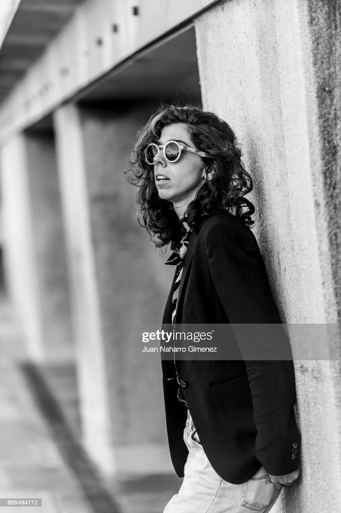 Julia de Castro, actress and singer of the music band 'La Purisima', poses for a portrait session during 65th San Sebastian Film Festival on September 25, 2017 in San Sebastian, Spain
