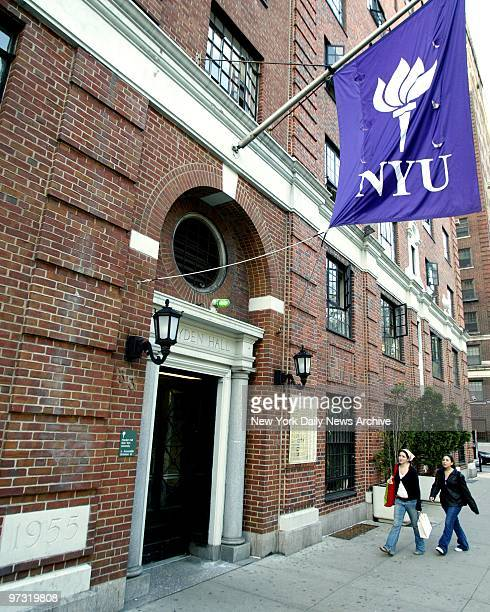 Julia Diaco a student at New York University was selling drugs out of the her Hayden Hall dormitory