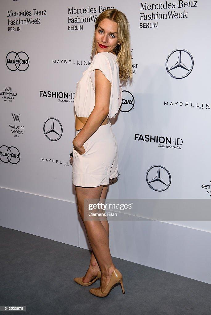 Anja Gockel Arrivals - Mercedes-Benz Fashion Week Berlin Spring/Summer 2017