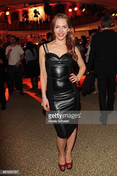 Julia Dietze attends the Echo award 2014 Party at Messe Berlin on March 27 2014 in Berlin Germany