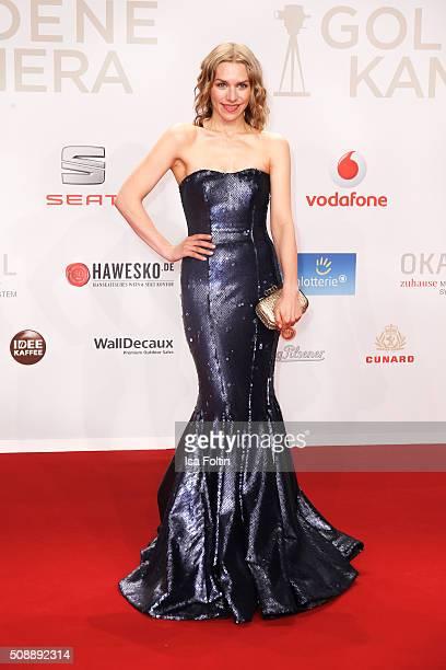 Julia Dietze attends the Goldene Kamera 2016 on February 6 2016 in Hamburg Germany