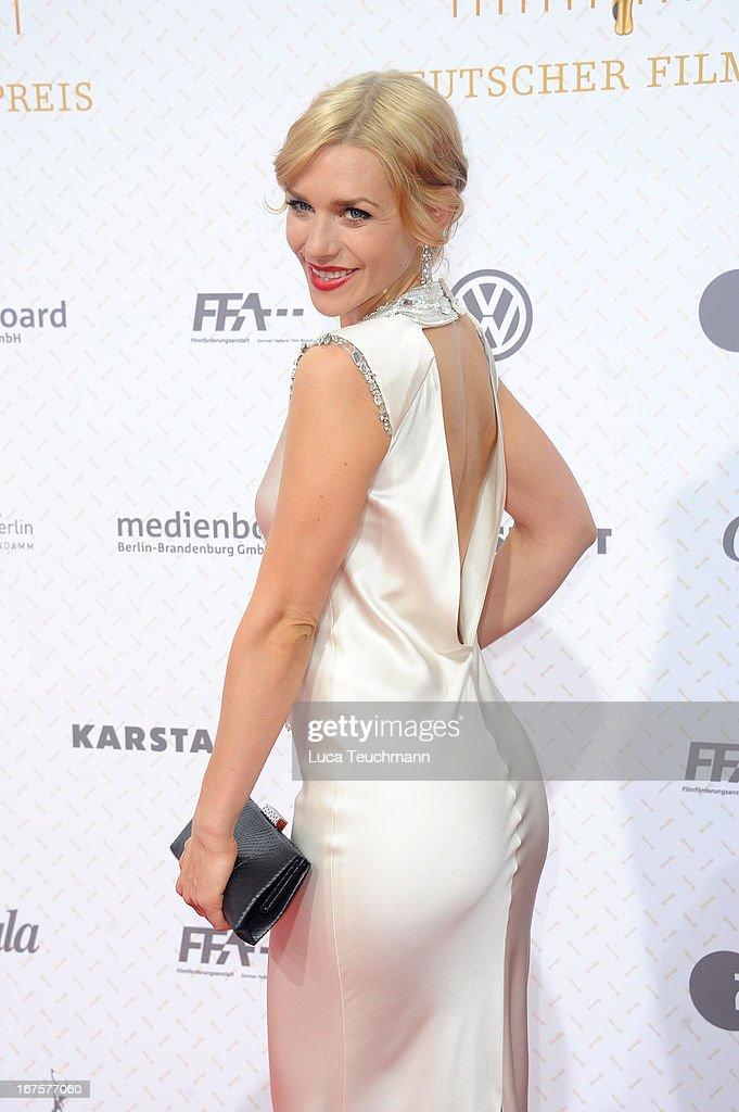 Julia Dietze attends the Lola German Film Award 2013 at Friedrichstadtpalast on April 26, 2013 in Berlin, Germany.