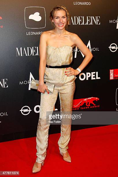 Julia Dietze attends the New Faces Award Film 2015 at ewerk on June 18 2015 in Berlin Germany