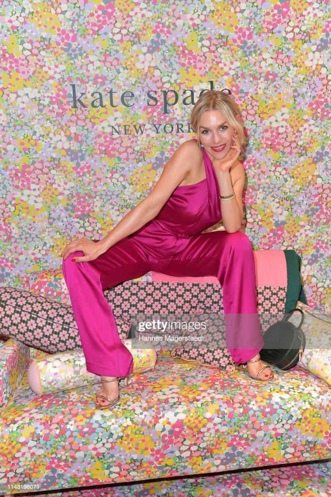 DEU: Kate Spade New York Store Opening In Munich