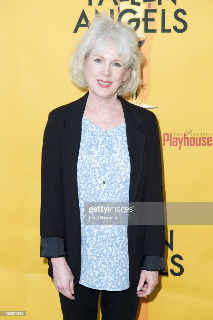 Julia Duffy attends the Opening Night Performance of Noel Coward's Fallen Angels at Pasadena Playhouse on February 3, 2013 in Pasadena, California.