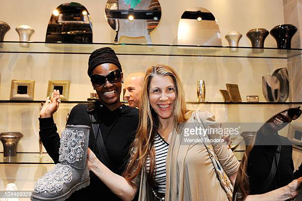 Julia dunkin and Rachel Zoliin attend the OC Concept Store during Fashion's Night Out on September 8 2011 in New York City