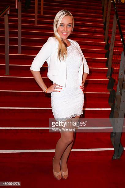 Julia Fjalt attends the musical premiere of 'The Great Dance Of Argentina' at Musical Dome Cologne on January 3 2015 in Cologne Germany