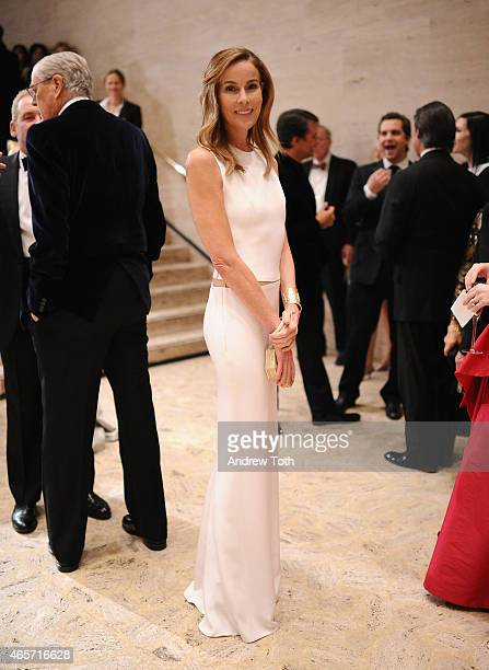Julia Flesher Koch attends the School of American Ballet 2015 Winter Ball at David H Koch Theater at Lincoln Center on March 9 2015 in New York City
