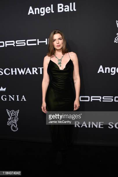 Julia Fox arrives at the Angel Ball 2019 hosted by Gabrielle's Angel Foundation at Cipriani Wall Street on October 28, 2019 in New York City.