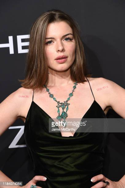 Julia Fox arrives at the Angel Ball 2019 hosted by Gabrielle's Angel Foundation at Cipriani Wall Street on October 28 2019 in New York City