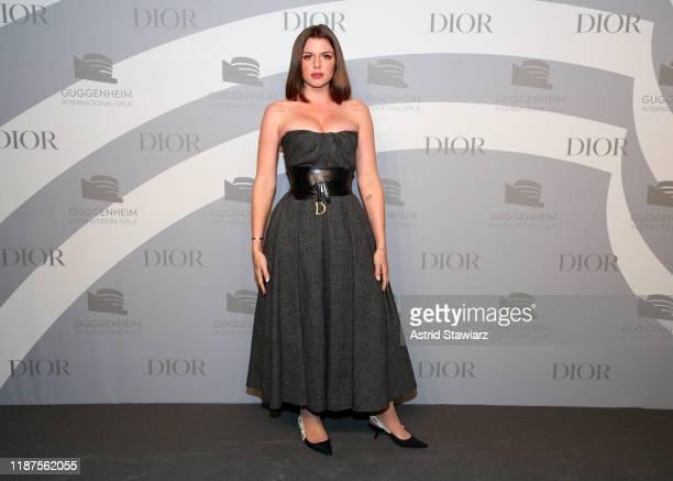 Julia Fox attends 2019 Guggenheim International Gala Pre-Party at Solomon R. Guggenheim Museum on November 13, 2019 in New York City.