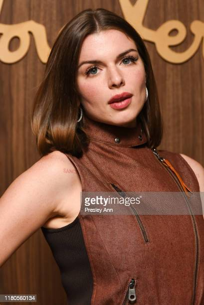 Julia Fox attends ELLE x Ferragamo Hollywood Rising Party at Sunset Tower on October 11, 2019 in Los Angeles, California.