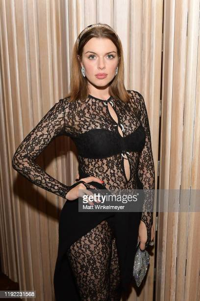 Julia Fox attends the 2019 GQ Men of the Year celebration at The West Hollywood EDITION on December 05 2019 in West Hollywood California