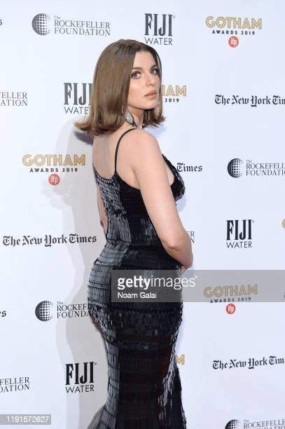 Julia Fox attends the 2019 IFP Gotham Awards with FIJI Water at Cipriani Wall Street on December 02 2019 in New York City
