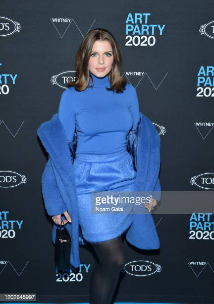 Julia Fox attends the 2020 Whitney Art Party at The Whitney Museum of American Art on January 28 2020 in New York City