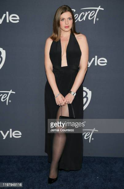 Julia Fox attends the 21st Annual Warner Bros And InStyle Golden Globe After Party at The Beverly Hilton Hotel on January 05 2020 in Beverly Hills...