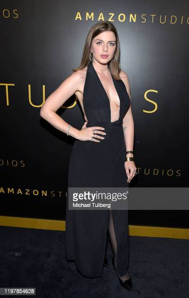 Julia Fox attends the Amazon Studios Golden Globes after party at The Beverly Hilton Hotel on January 05 2020 in Beverly Hills California