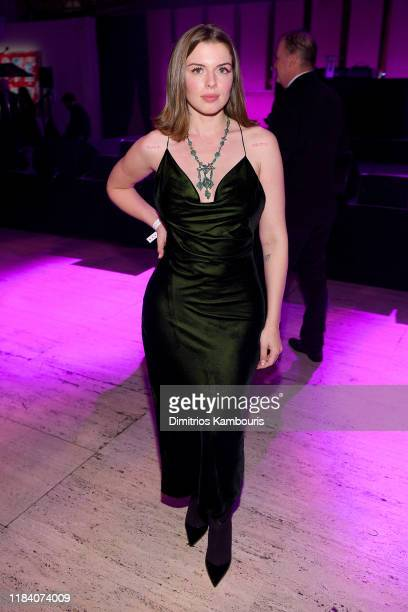 Julia Fox attends the Angel Ball 2019 hosted by Gabrielle's Angel Foundation at Cipriani Wall Street on October 28 2019 in New York City
