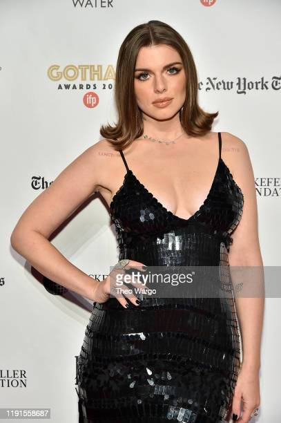 Julia Fox attends the IFP's 29th Annual Gotham Independent Film Awards at Cipriani Wall Street on December 02 2019 in New York City