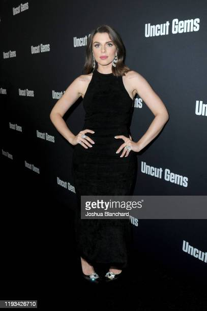 Julia Fox attends the Los Angeles premiere of Uncut Gems on December 11 2019 in Los Angeles California