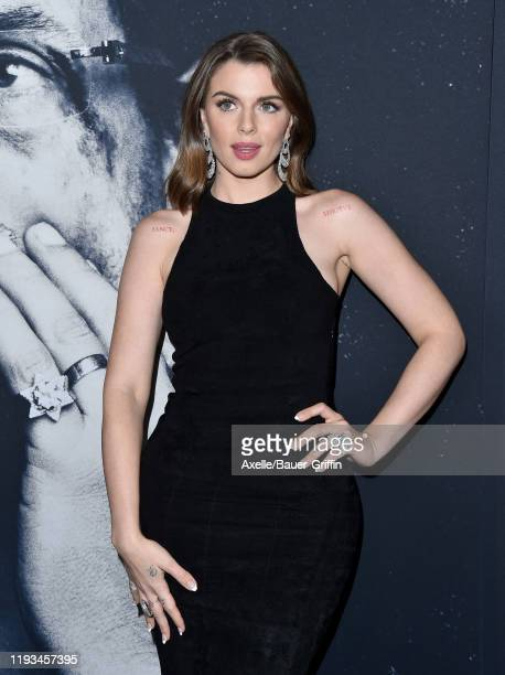 Julia Fox attends the premiere of A24's Uncut Gems at The Dome at ArcLight Hollywood on December 11 2019 in Hollywood California