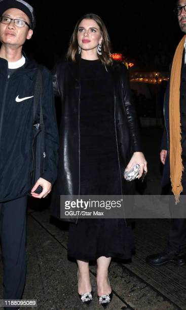 Julia Fox is seen on December 11 2019 in Los Angeles California