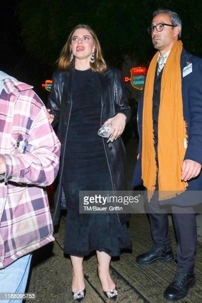 Julia Fox is seen on December 12, 2019 in Los Angeles, California.