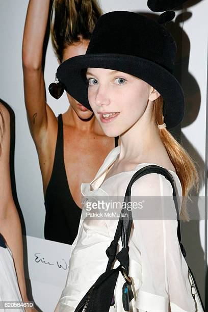 Julia Frakes attends ERIN WASSON PM TENORE present the launch of ERIN WASSON X RVCA at 90 Ludlow Street on September 4 2008 in New York City