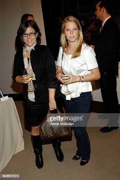 Julia Fryett and Courtney Kremers attend WALL STREET JOURNAL Hosts Panel Discussion with KENNY SCHARF at The Core Club on October 23 2007 in New York...