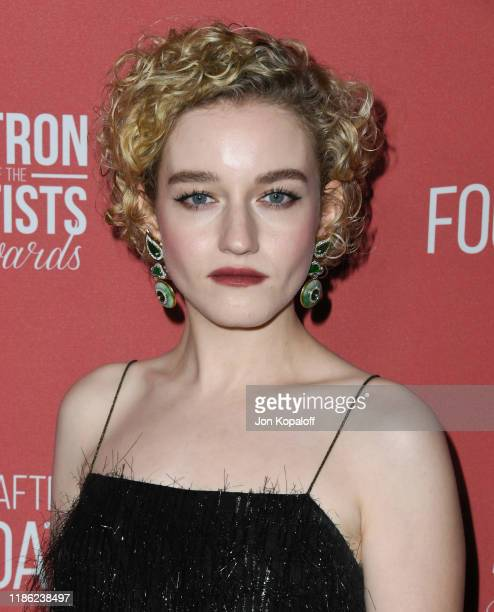 Julia Garner attends SAG-AFTRA Foundation's 4th Annual Patron Of The Artists Awards at Wallis Annenberg Center for the Performing Arts on November...