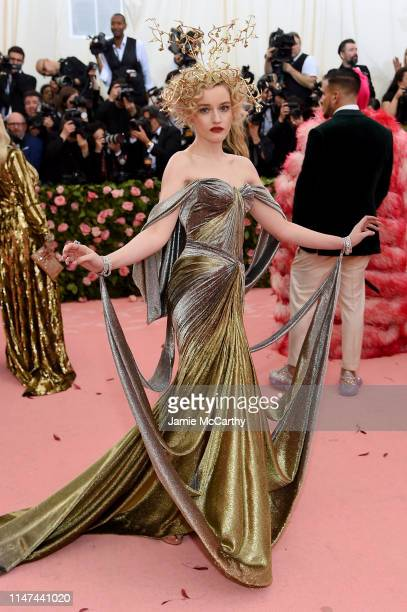 Julia Garner attends The 2019 Met Gala Celebrating Camp Notes on Fashion at Metropolitan Museum of Art on May 06 2019 in New York City