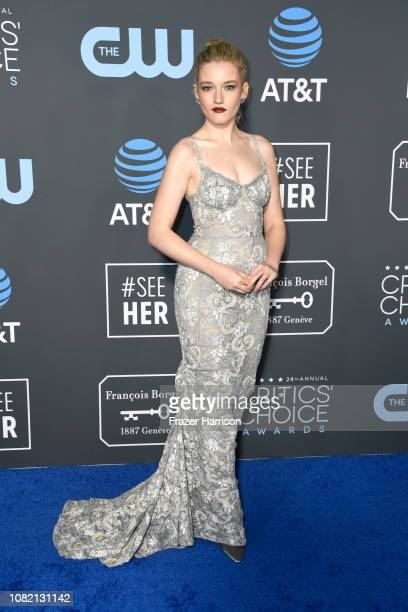 Julia Garner attends the 24th annual Critics' Choice Awards at Barker Hangar on January 13, 2019 in Santa Monica, California.