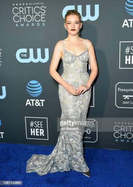 Julia Garner attends the 24th annual Critics' Choice Awards at Barker Hangar on January 13 2019 in Santa Monica California